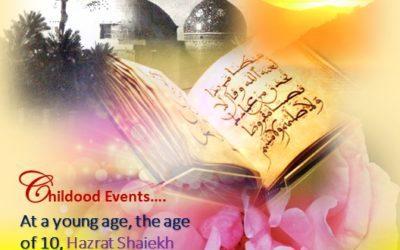 Life Events -Of Hazrat Ghaus e A'zam Shaiekh Saiyyid Abdul Qaadir Jeelaani [Rahmatul Laah Alaieh]